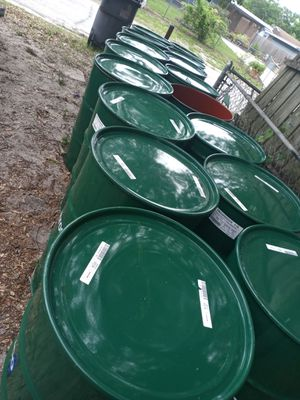 16 food-grade barrels.for 120$ for Sale in Auburndale, FL