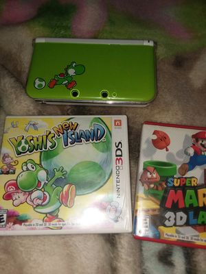 Ninetindo Yoshi limited edition 3DS for Sale in Coosada, AL