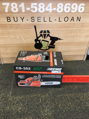 """ECHO Chainsaw 16"""" Bar & Chain 34.0cc CS-352 Gas Commercial Grade New for Sale in Saugus, MA"""
