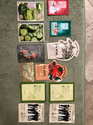Tony Moly Skin Beauty Face Masks & Ferment Snail Eye Mask for Sale in Austin, TX