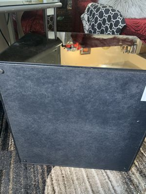 Cube mirrored side table set of two for Sale in The Bronx, NY