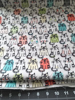 Flannel Cat Fabric 4 Yards for Sale in Carmichael, CA