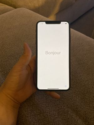 iPhone XS Max black **PERFECT CONDITION** for Sale in Ontario, CA