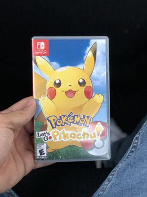 POKÉMON LETS GO PIKACHU   Nintendo Switch for Sale in Miami, FL