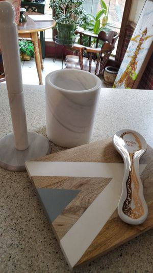 Collection of marble kitchen objects for Sale in Tulsa, OK