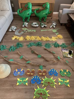Dinosaur Party Theme Decor for Sale in Orlando, FL