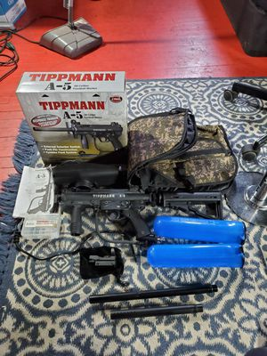 Tippmann A5 Response Package for Sale in Huntington, NY