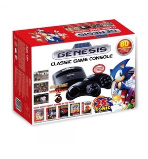 Sega Genesis Classic With 2 Controllers with 80 Loaded Games $40 Other games available, message for individual pricing. for Sale in Corpus Christi, TX