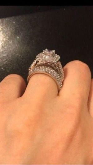 Stamped 925 Sterling Silver Ring Set - Code S12 for Sale in Houston, TX