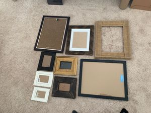 Collection of nice frames for photographs (ranging from 4x6 to 16x24) for Sale in San Diego, CA