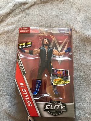 WWE Elite Collection AJ Styles Action Figure series 47 A for Sale in Stockton, CA