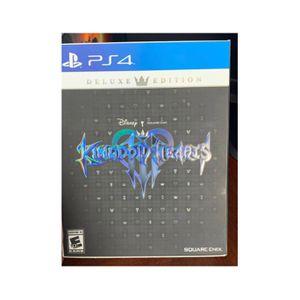 Kingdom of Hearts 3 Deluxe for Sale in Trenton, NJ