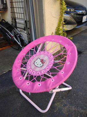 Hello Kitty Pink Canvas Soft Web Chair - $5 for Sale in Irvine, CA