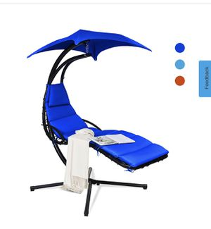 New Hanging Swing Chair Hammock Chair w/ Pillow Canopy Stand for Sale in La Puente, CA