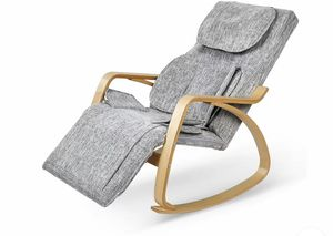 Electric Heat Folding Massage Chair Rocking Design Lounge Bed Shiatsu Recliner for Sale in Brooklyn, NY