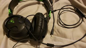 Turtle beach earforce 50x xbox headset wired. for Sale in Puyallup, WA