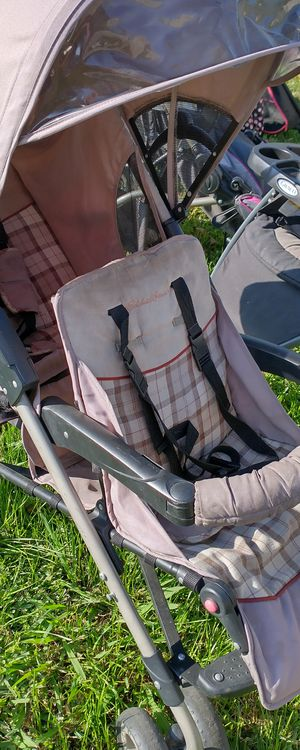 Eddie bauer double stroller carriola doble carreola for Sale in Irving, TX