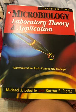 Microbiology: Laboratory Theory & Application for Sale in Pearland, TX