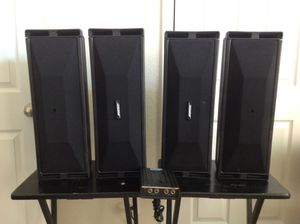 Two Pairs Bose 402 speakers with Equalizer for Sale in Houston, TX