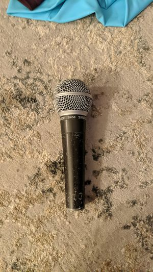 Shure SM58 Dynamic Vocal Microphone Mic XLR karaoke for Sale in Escondido, CA