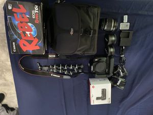 Canon T6i WiFi for Sale in Lorain, OH