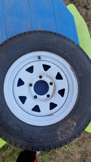 Trailer tire for Sale in Progreso Lakes, TX