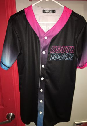 dwayne wade south beach baseball jersey for Sale in Blacklick, OH