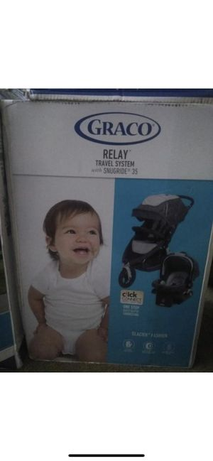 Brand new in box GRACO RELAY travel system Car seat and Strolle for Sale in Washington, DC