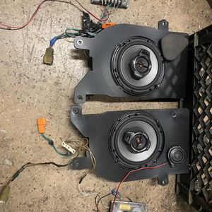 Lexus SC300/400 Component Front Speakers w/ Adapters for Sale in Huntington Beach, CA