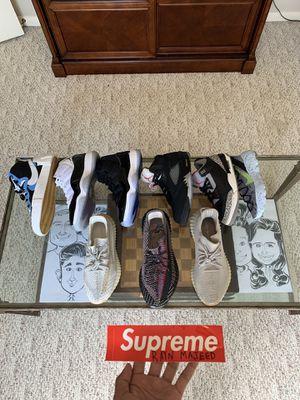 Yeezy, sacai, jordan 11, jordan 3, jordan 5 for Sale in Cypress, TX