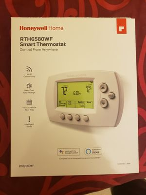 New in box, Honeywell Smart Thermostat, Google and Alexa ready for Sale in Columbia, MD