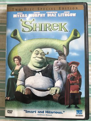 Shrek DVD two disc edition for Sale in Rochester, NY