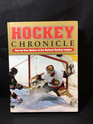 Hockey Chronicle for Sale in Basom, NY