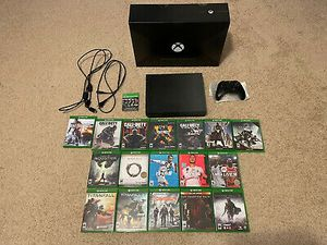 Microsoft Series Xbox One X 1 TB Project Scorpio Edition 17 Games Call Of Duty for Sale in Fairfax, VA