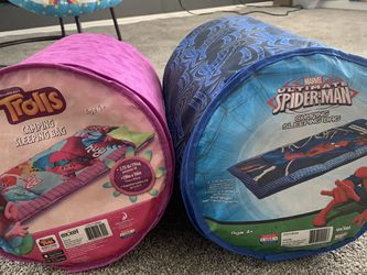 Trolls and Spiderman Sleeping Bags for Sale in Murrieta,  CA