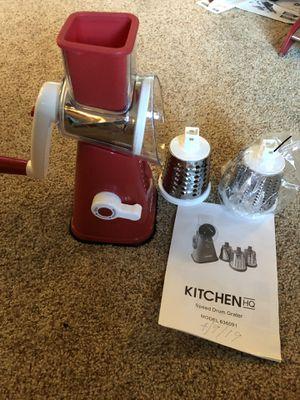 Drum Grater - Kitchen HQ (3 blades) for Sale in Pinole, CA