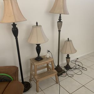 6 Lamps Bundle for Sale in Fort Lauderdale, FL