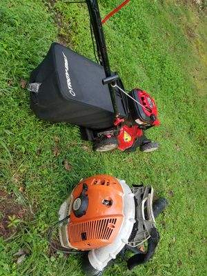 blower sthil 600 lawn mover for Sale in Fairfax, VA