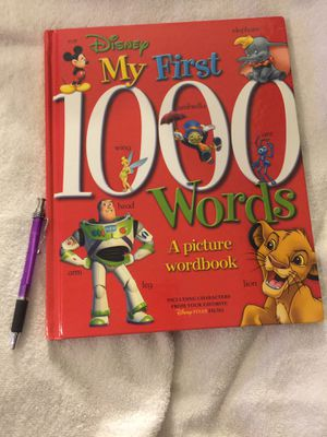 Disney My First 1000 Words Hardcover Picture Book for Sale in Honolulu, HI