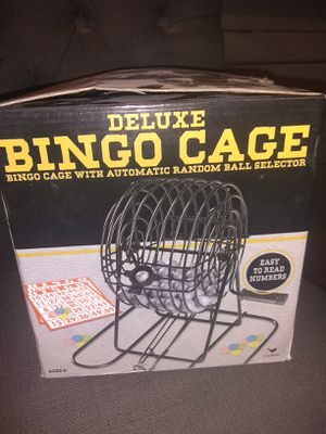 Bingo cage $5 for Sale in Knoxville, TN