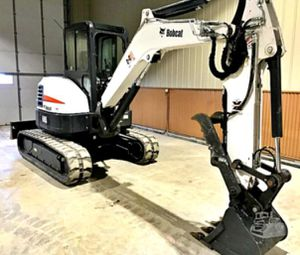 _'17_BOBCAT E45 ENCLOSED CAB for Sale in Midland, TX