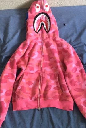 Medium Pink Bape Hoodie for Sale in Alvin, TX