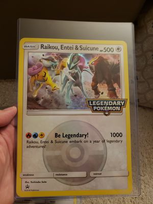 Pokemon card legendary foil for Sale in Brier, WA