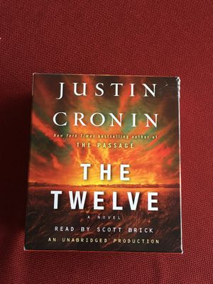 The Twelve audio book by Justin Cronin for Sale in Clifton, VA