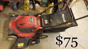 "Homelite 20"" electric lawn mower + freebie for Sale in Whittier, CA"