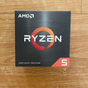 AMD Ryzen 5 5600X 6-core 12-Thread Desktop Processor with Wraith Stealth Cooler for Sale in Los Alamitos, CA