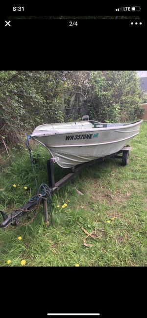 WTT 12' aluminum boat for Sale in Hillsboro, OR
