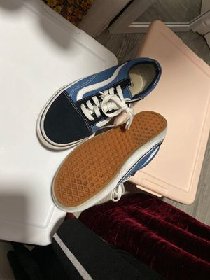 Old school navy blue vans for Sale in Chino Hills, CA