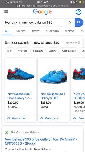 New balance 580 tour day Miami (Nike) for Sale in Wyoming, MI