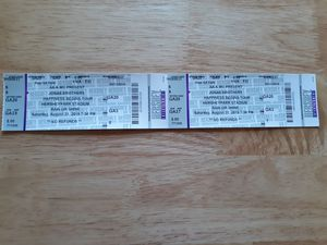 2 Jonas Brothers Happiness Begins Tour Tickets for Sale in Scott, PA